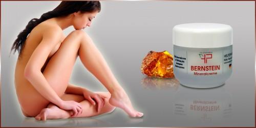 Bernstein Mineralcreme / Optybody / Für Körper und Hände