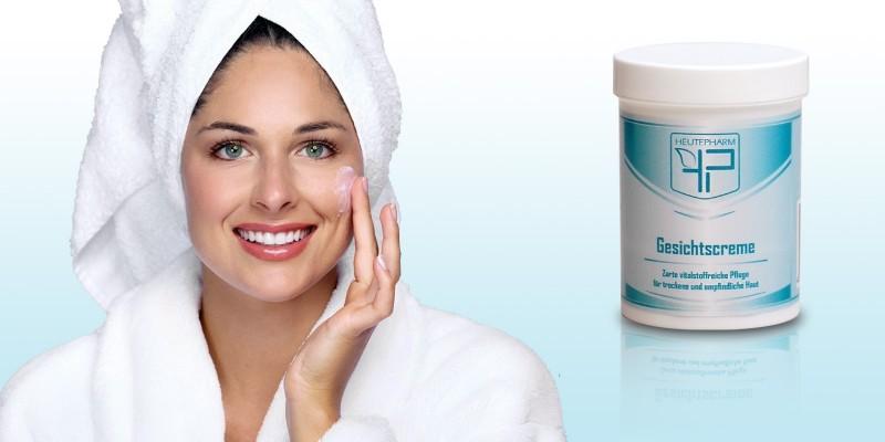 Gesichtscreme für trockene und empfindliche Haut