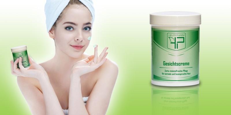 Gesichtscreme für normale und beanspruchte Haut