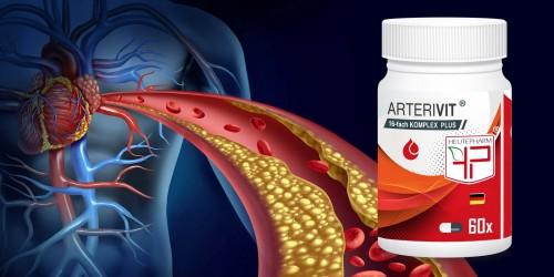 ARTERIVIT - Blutverdünner / Zur Vorbeugung der Arterienverkalkung