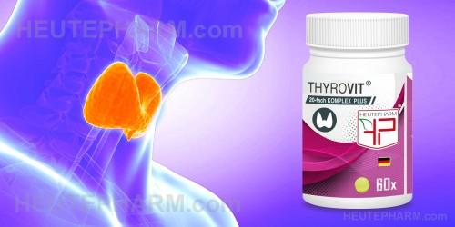 THYROVIT - Unterstützt die Funktion der Schilddrüse