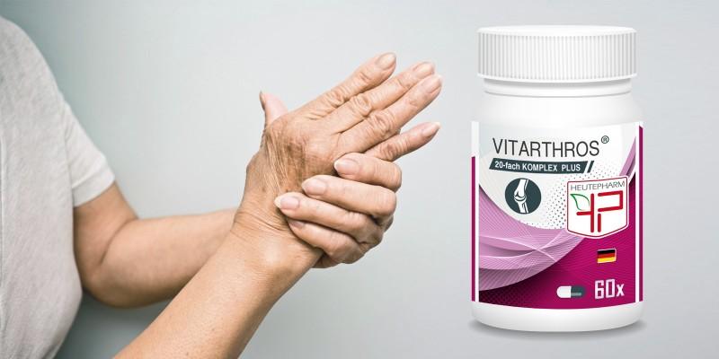 VITARTHROS - bei arthrotischen Gelenkerkrankungen