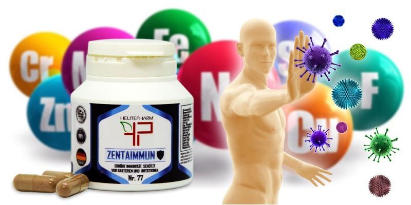 ZENTAIMMUN / Erhöht die Immunität /